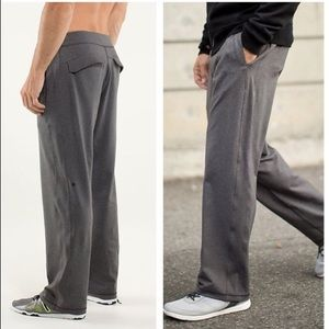Men's BLACK Kung Fu Pants